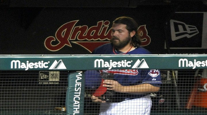 Indians Closer Chris Perez Had Another Sparring Session With The Media...