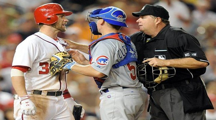 Cubs to Nationals: Up 7-2, You Don't Swing at 3-0 Pitches, or We'll Throw at You