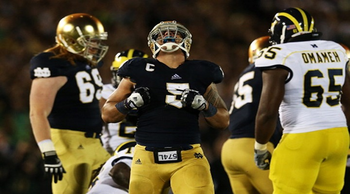 Notre Dame Opts Out of Its Series With Michigan; Exercising Out Clause After 2014...