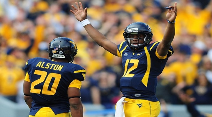 West Virginia and Baylor Tied 35-35 at Half-Time in HUGE Offensive Display..