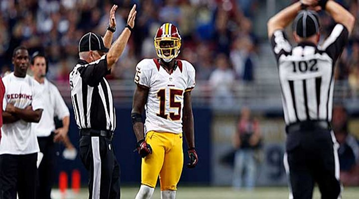 Redskins WR Josh Morgan Not Concerned About Death Threats on Twitter, After Stupid Penalty....