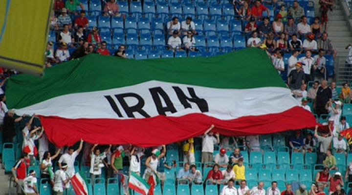Video: Soccer Player Nearly Loses His Hand Tossing a Grenade off the Field in Iran