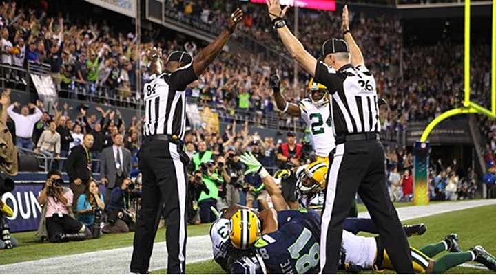 Replacement Refs Decide Game As Seahawks Edge Packers 14-12 on MNF...
