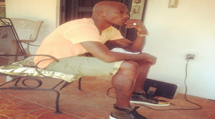 BoneHead: Chad Johnson Might Have Tattooed Soon To Be Ex-Wife Evelyn Lozada's Face on His Leg