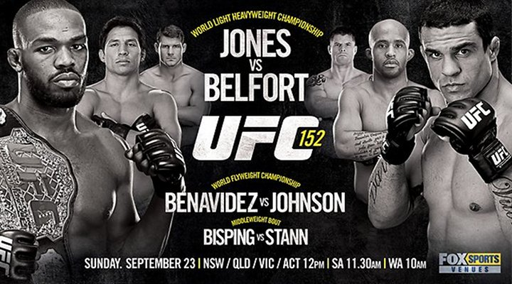 UFC 152: Jon Jones vs. Vitor Belfor, Plus the First Ever UFC Flyweight Title