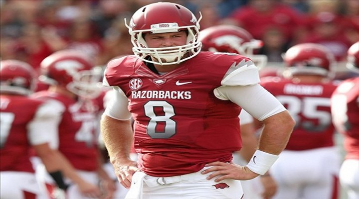 Arkansas QB Tyler Wilson Will Miss the Alabama Game, Has Not Been Cleared to Play