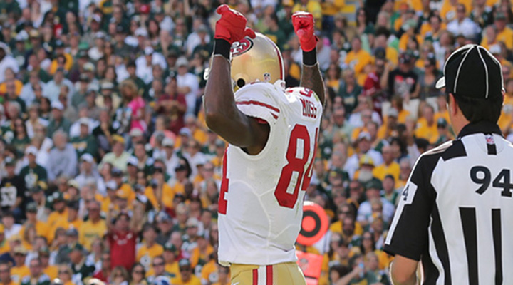 Back From the Dead: 49ers WR Randy Moss is Alive, and Just Scored a Touchdown [Video]