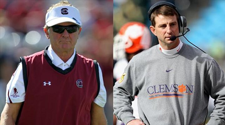Clemson Coach Dabo Swinney Fires Back at Spurrier's Death Valley Jibe, Points Out Real USC is in California
