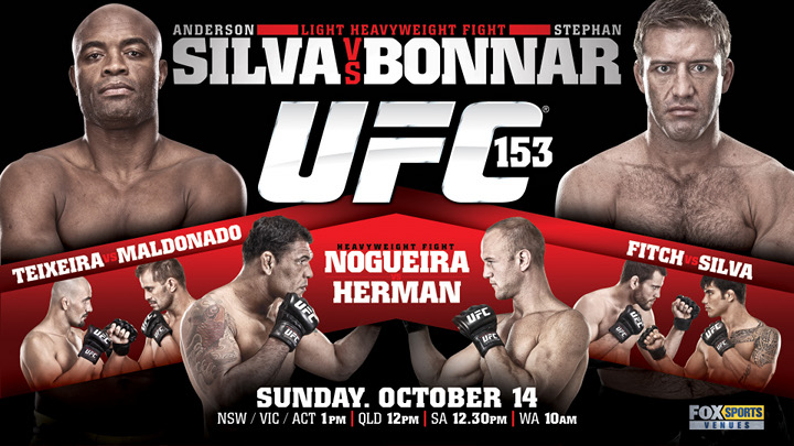 UFC 153 - The ONE man who can defeat Anderson Silva!