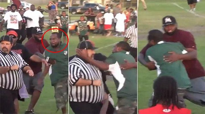 Florida Youth Football Coach With Criminal Record Slapped a Referee in the Head [Video]