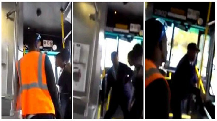 Cleveland Bus Driver Uppercuts Woman