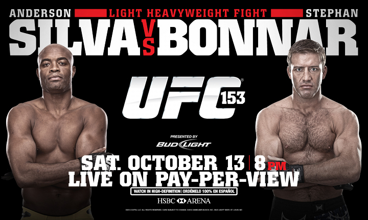 UFC 153 Live Tomorrow ONLY on Paper-View!