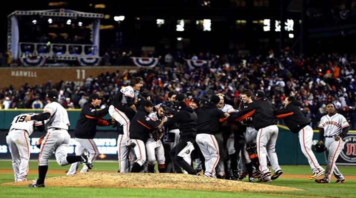 San Francisco Giants Are 2012 World Series Champions