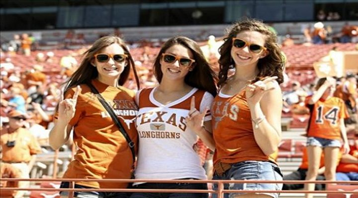 """Pretty Longhorns Fan Says """"F*ck"""" on Television; Sums Up Texas 63-21 Loss to Oklahoma  [Video]"""