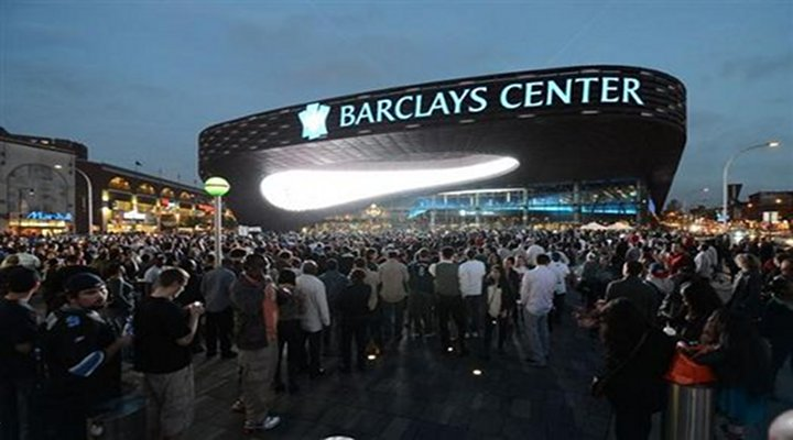 BoneHead: Disgruntled Fan at Barclays Center Carried Out By 4 Security Guards [Video]