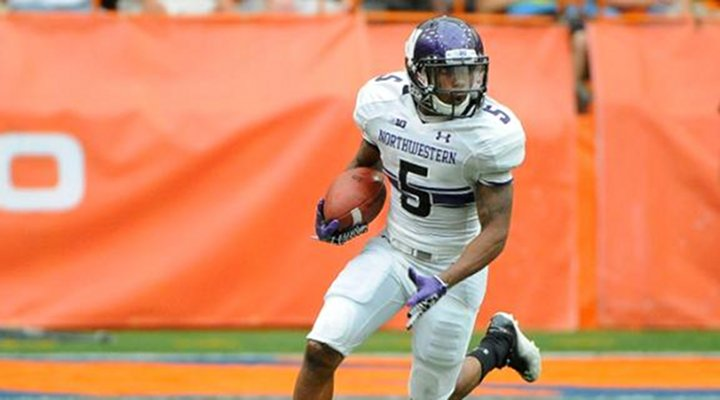 Northwestern's Venric Mark Returns 75-Yard Punt Untouched for the Touchdown [Video]