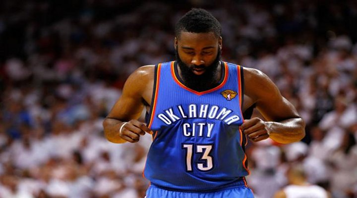 OKC Thunder James Harden Traded to the Houston Rockets for Kevin Martin, Jeremy Lamb & Two 2013 1st Round Draft Picks