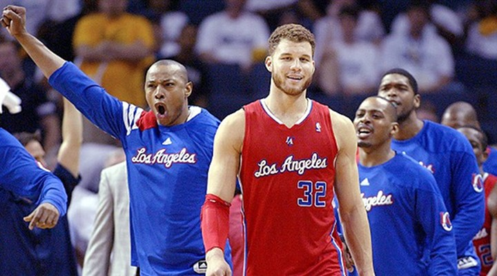 Blake Griffin Makes 75-Foot Shot During Clippers First Open Scrimmage of the Year [Video]