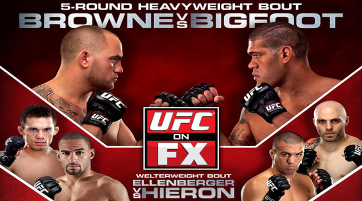 UFC on FX Preview & Fight Card: Travis Browne vs Antonio BigFoot Silva