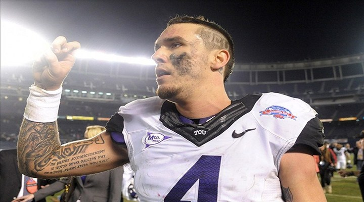 TCU Quarterback Casey Pachall Will Miss Rest of the Season After DWI Arrest; Enters In-Patient Facility