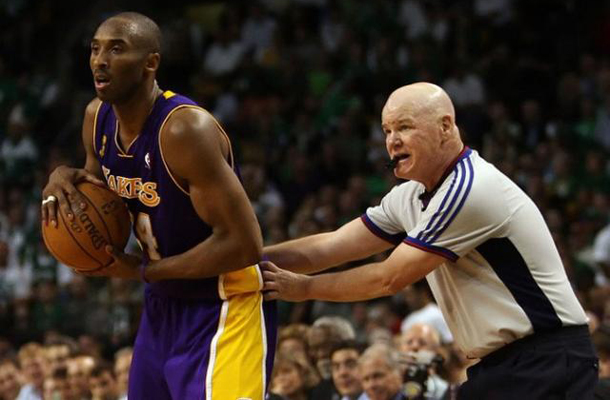 Referee Joey Crawford Had the Most Flamboyant Blocking Call in NBA History [Video]