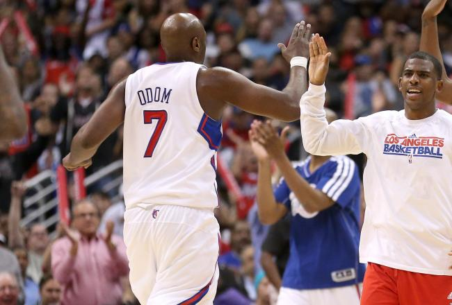 Dunk of the Day: Clippers Lamar Odom's Nasty Put Back Slam Against the Timberwolves [Video]