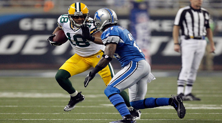 Catch of the Day: Packers Randall Cobb Makes Incredible Touchdown Catch to Beat the Lions [Video]