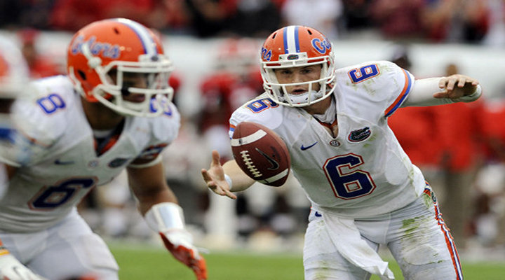 Florida QB Jeff Driskel Fumbles & Goes for a Horsey-Back Ride to Set Up Seminol Touchdown [Video]