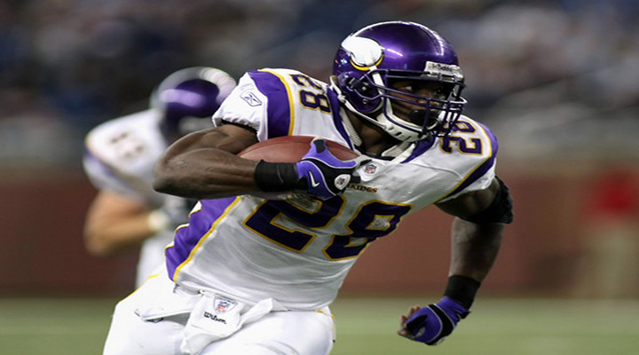 Vikings RB Adrian Peterson's Spin Move Made the Seattle Defense Look Foolish [Video]