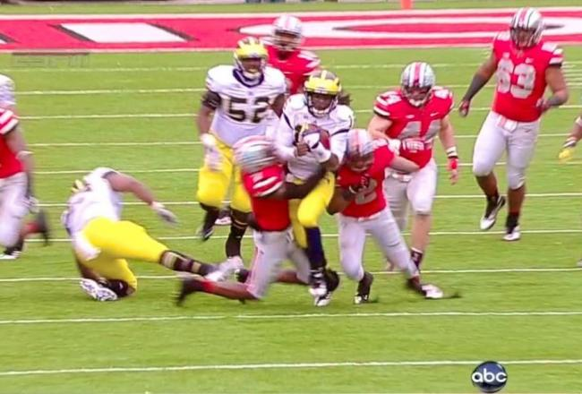 Denard Robinson's 67-Yard Touchdown Run Against Ohio State Was Ridiculous! [Video]