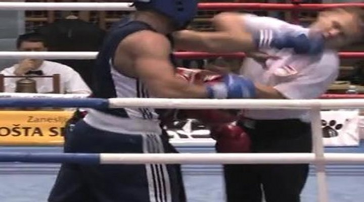 BoneHead: Croatian Boxer Punches Referee in the Face & Gets Disqualified [Video]