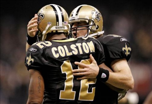 """""""You Got Knocked the F*ck Out!"""": Saints WR Marques Colston Goes Air-Born Against the 49ers [Video]"""