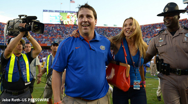 Florida Coach Will Muschamp's Wife Thinks He's Sexy, Despite Florida's Sexless Wins [Video]