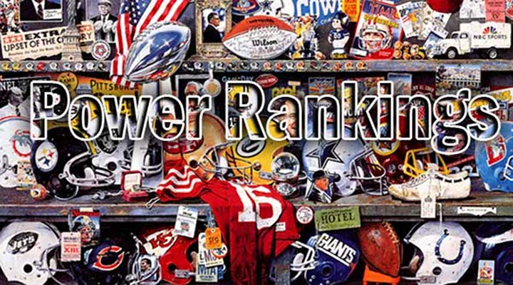 SPORTS GURUS: NFL POWER RANKINGS – WEEK 11