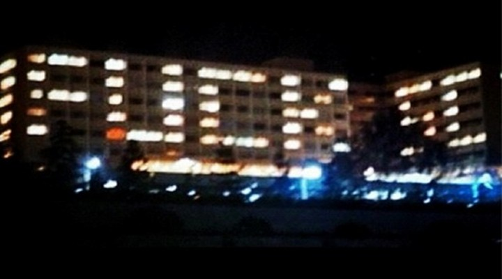 "UCLA Dorms Create ""F*ck SC"" Using Their Lights in Their Rooms Leading Up USC Game"