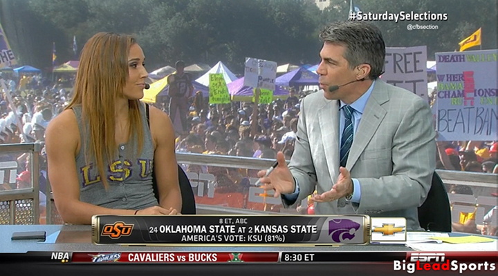 USA Track Star Lolo Jones Picked LSU & Said She Could Beat Denard Robinson in a Race [Video]