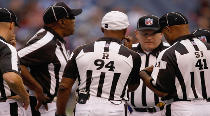 Replacement Refs Make a Comeback During Panthers vs Redskins Game [Video]
