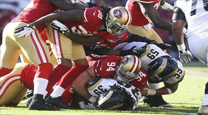 Rams and 49ers Game Ends in a Tie, 24-24, the First Since Bengals-Eagles in 2008