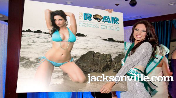 "Behind-the-Scenes of ""The ROAR"": Jaguars 2013 Swimsuit Calendar Shoot [Video]"