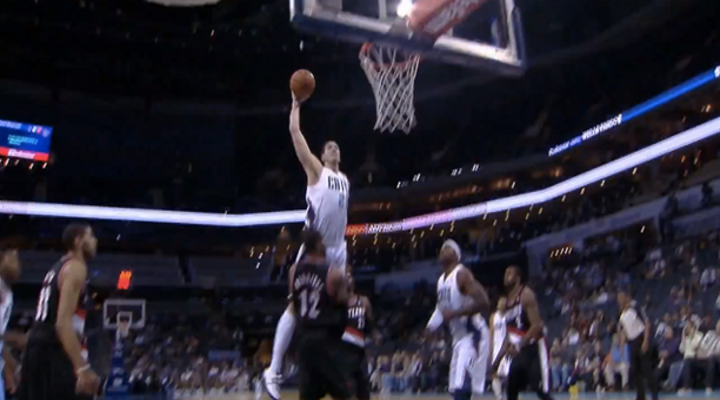 Dunk of the Day: Bobcats Byron Mullens Dunked on LaMarcus Aldridge Like He Was His B*tch [Video]