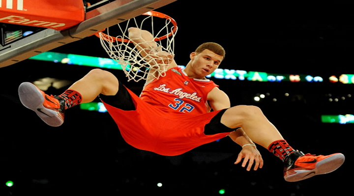 Slammin': Clippers Blake Griffin Had a One-Handed Dunk on a Pass off the Backboard [Video]