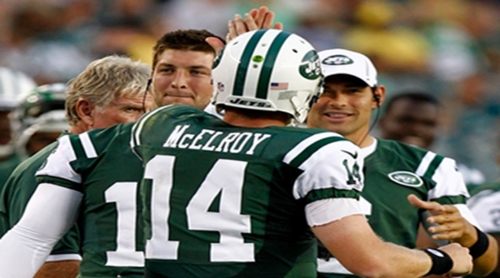 Jets QB Greg McElroy Threw His 1st NFL TD Pass, Then Looked Around to Find the Ball as a Keepsake [Video]
