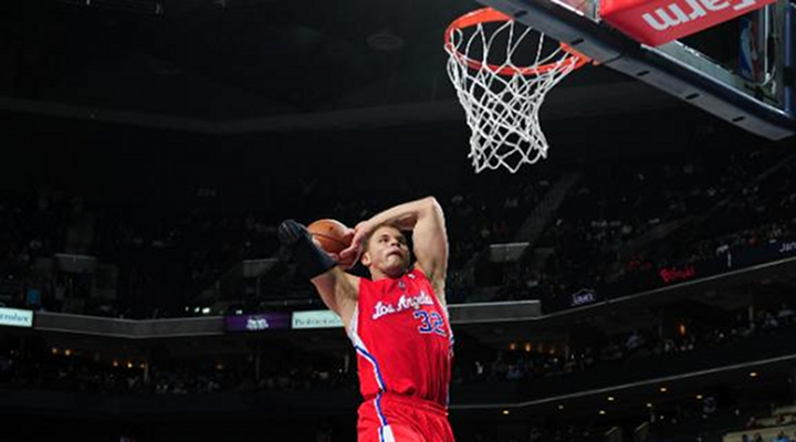 Slammin': Blake Griffin Goes Off Against Charlotte; Clippers Have Won Eight Straight [Video]