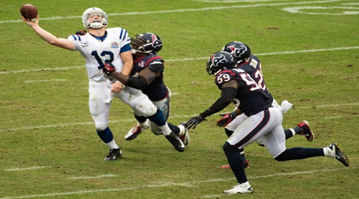 Colts Rookie QB Andrew Luck Gets an Assist From the Tuck Rule; Conner Barwin Not Happy [Video]