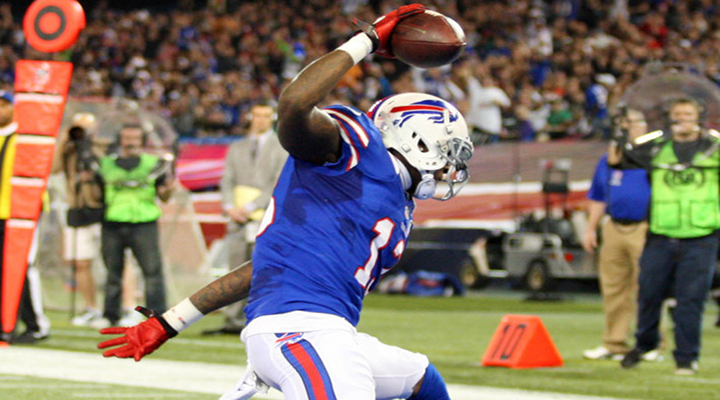 Catch of the Day: Bills WR Stevie Johnson Makes MATRIX One-Handed Catch Against Seahawks [Video]