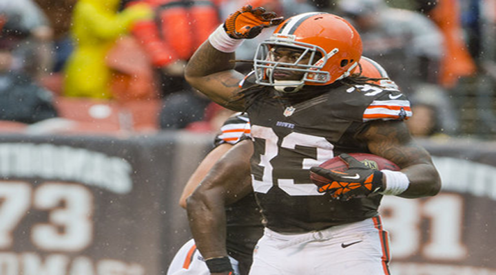 Browns RB Trent Richardson Breaks Browns Rookie Rushing Touchdown Record [Video]