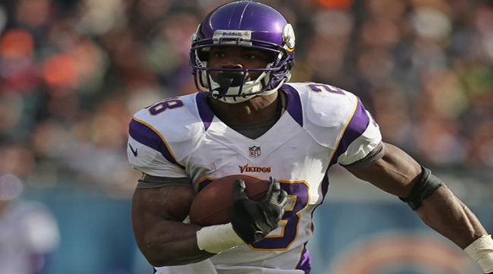 Vikings RB Adrian Peterson With Another 82 Yard Touchdown & Gus Johnson With the Call [Video]