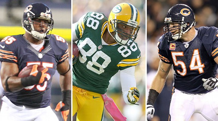 """NFC North Trash Talk: Bears Lance Briggs Thinks Packers Jermichael Finley is an """"Idiot"""""""