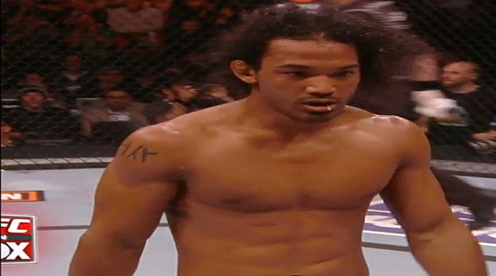 UFC on FOX: Benson Henderson Defended His Title Against Nate Diaz With a Toothpick in His Mouth [Video]