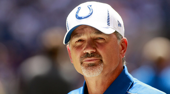 Just In Time For Christmas: Coach Chuck Pagano Rejoins the Indianapolis Colts
